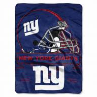 New York Giants Prestige Raschel Blanket