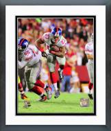 New York Giants Rashad Jennings 2014 Action Framed Photo