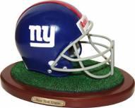 New York Giants Replica Football Helmet Figurine