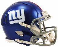 New York Giants Riddell Speed Mini Replica Football Helmet