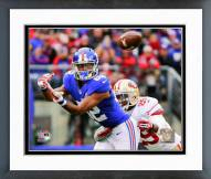 New York Giants Rueben Randle 2014 Action Framed Photo