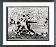 New York Giants Sam Huff 1959 Action Framed Photo