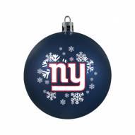 New York Giants Shatterproof Ball Ornament