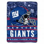 New York Giants Silk Touch Stacked Blanket
