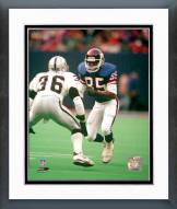 New York Giants Stephen Baker Action Framed Photo