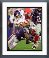New York Giants Steve Smith Super Bowl XLII Action Framed Photo