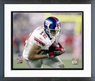 New York Giants Steve Smith SuperBowl XLII Action Framed Photo