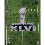 "New York Giants Super Bowl XLVI 2011 Trophy Champions Signed 16"" x 20"" Photo"