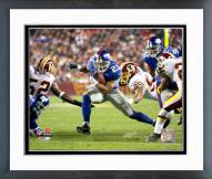 New York Giants Tiki Barber 2006 Action Framed Photo