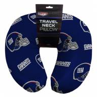 New York Giants Travel Neck Pillow