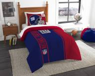 New York Giants Twin Comforter & Sham Set