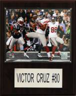 "New York Giants Victor Cruz 12 x 15"" Player Plaque"
