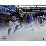 "New York Giants Victor Cruz Running Onto The Field vs. Saints Signed 16"" x 20"" Photo"