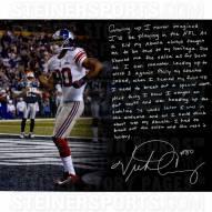 "New York Giants Victor Cruz Super Bowl TD Celebration Story Signed 16"" x 20"" Photo"