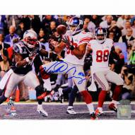 "New York Giants Victor Cruz Super Bowl XLVI Touchdown Signed 16"" x 20"" Photo"