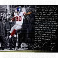 "New York Giants Victor Cruz Vs. Jets Story Signed 16"" x 20"" Photo"