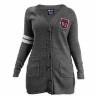 New York Giants Women's Gray Varsity Cardigan