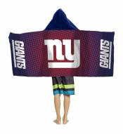 New York Giants Youth Hooded Towel