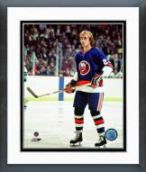 New York Islanders Bobby Nystrom Action Framed Photo