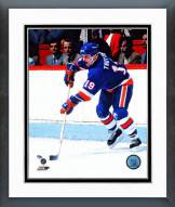 New York Islanders Bryan Trottier Action Framed Photo
