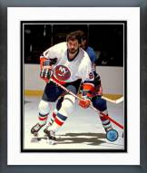 New York Islanders Clark Gillies Framed Photo