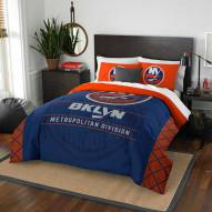 New York Islanders Draft Full/Queen Comforter Set