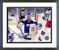 New York Islanders Evgeni Nabokov 2014 NHL Stadium Series Framed Photo