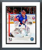 New York Islanders Jaroslav Halak 2014-15 Action Framed Photo