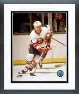 New York Islanders Jean Potvin Action Framed Photo