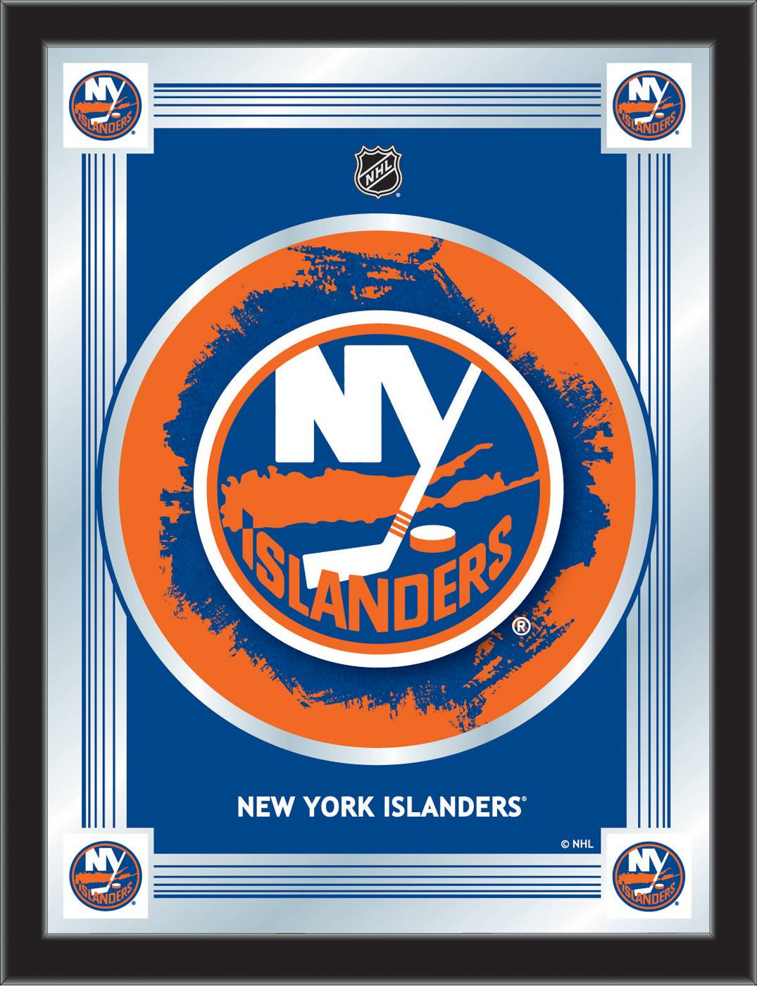 New York Islanders Logo Mirror