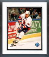 New York Islanders Steve Thomas Action Framed Photo
