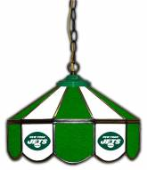 "New York Jets 14"" Glass Pub Lamp"