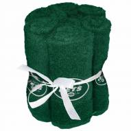 New York Jets 6 Pack Washcloths