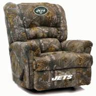 New York Jets Big Daddy Camo Recliner