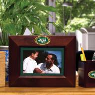 New York Jets Brown Landscape Picture Frame