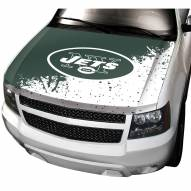New York Jets Car Hood Cover