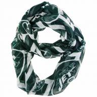 New York Jets Chevron Sheer Infinity Scarf
