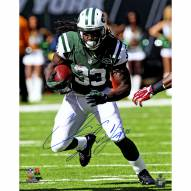 "New York Jets Chris Ivory 'Running' Signed 16"" x 20"" Photo"