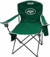 New York Jets Coleman XL Cooler Quad Chair