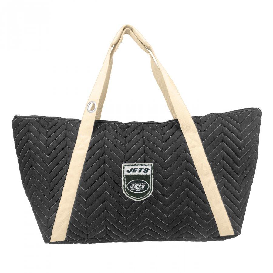 New York Jets Crest Chevron Weekender Bag