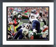 New York Jets Curtis Martin 2005 Action Framed Photo