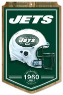 "New York Jets ""Established"" Wood Sign"
