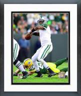 New York Jets Geno Smith 2014 Action Framed Photo