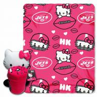 New York Jets Hello Kitty Blanket & Pillow