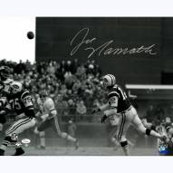 "New York Jets Joe Namath Dust vs. KC Signed 16"" x 20"" Photo"