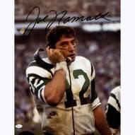 """New York Jets Joe Namath On Phone Signed 16"""" x 20"""" Photo"""