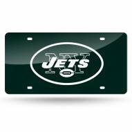 New York Jets Laser Cut License Plate