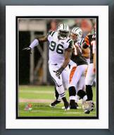 New York Jets Muhammad Wilkerson 2011 Action Framed Photo