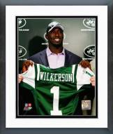 New York Jets Muhammad Wilkerson 2011 Press Conference Framed Photo