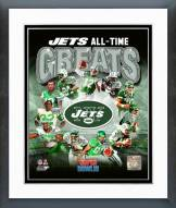 New York Jets New York Jets All Time Greats Composite Framed Photo